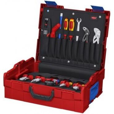 Набор инструментов L-BOXX® Elektro KNIPEX KN-002119LBE