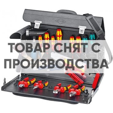 Чемодан для инструмента 24 предмета KNIPEX KN-002101TL