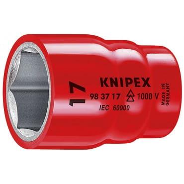 Торцовая головка для винтов с шестигранной головкой 3/8 KNIPEX KN-983717