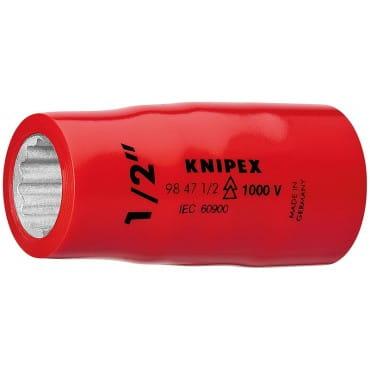 Насадки для торцовых ключей с внутренним квадратом 1/2 KNIPEX KN-98475_8