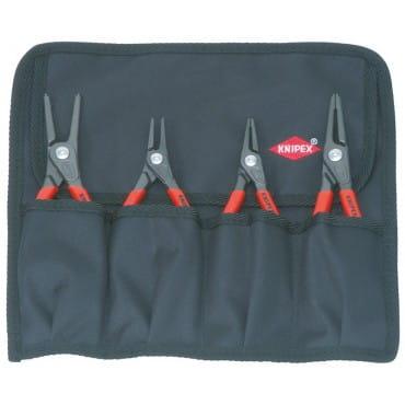 Набор щипцов для стопорных колец 4 предмета KNIPEX KN-001957