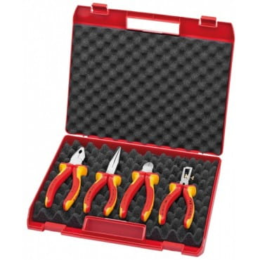 Чемодан с электроизолированными инструментами 4 предмета KNIPEX KN-002015