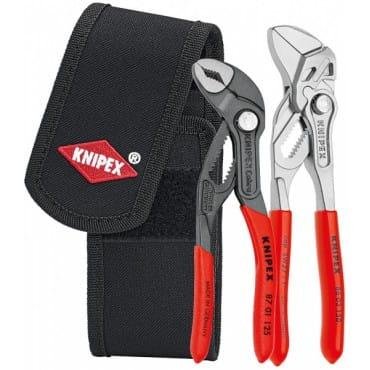 Набор мини-клещей в поясной сумке для инструментов KNIPEX KN-002072V01