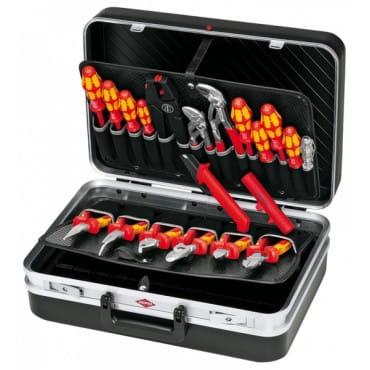 Чемодан для инструмента, набор электрика 20 предметов KNIPEX KN-002120