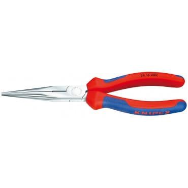 Плоские круглогубцы с режущими кромками KNIPEX KN-2615200