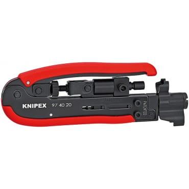 Компрессионный инструмент для штекера KNIPEX KN-974020SB