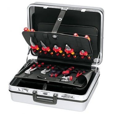Чемодан для инструмента, набор электрика 23 предмета KNIPEX KN-002130