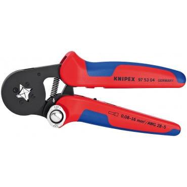 Самонастраивающийся инструмент для опрессовки контактных гильз KNIPEX KN-975304