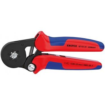 Самонастраивающийся инструмент для опрессовки контактных гильз KNIPEX KN-975314