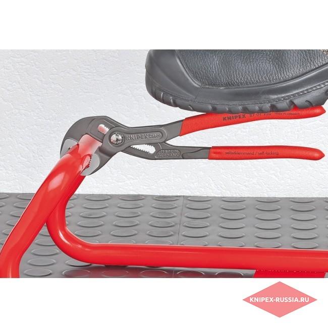 Высокотехнологичные сантехнические клещи Cobra KNIPEX KN-8703125PEBK