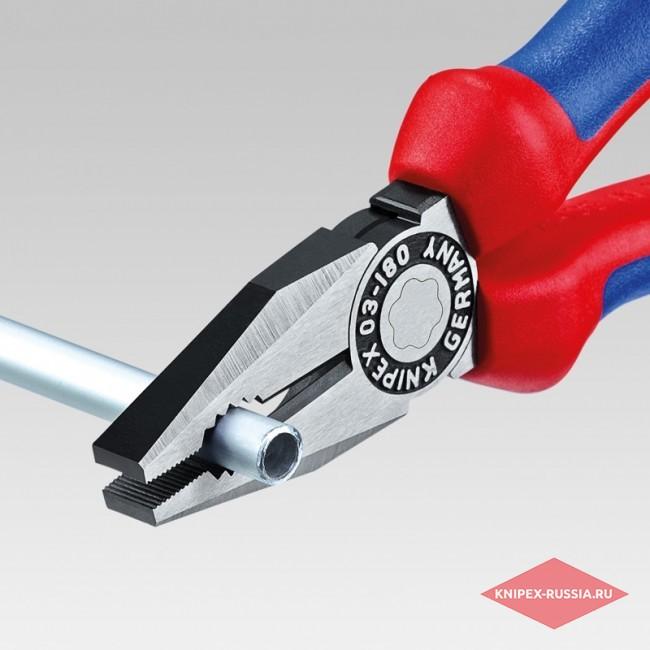 Плоскогубцы комбинированные KNIPEX KN-0302200