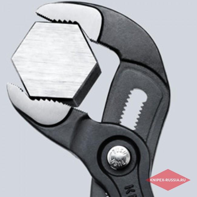 Высокотехнологичные сантехнические клещи Cobra KNIPEX KN-8701250SB