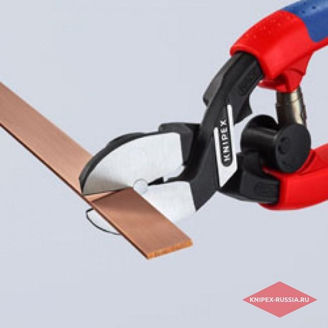 Кусачки боковые усиленные для мягких материалов KNIPEX KN-7262200