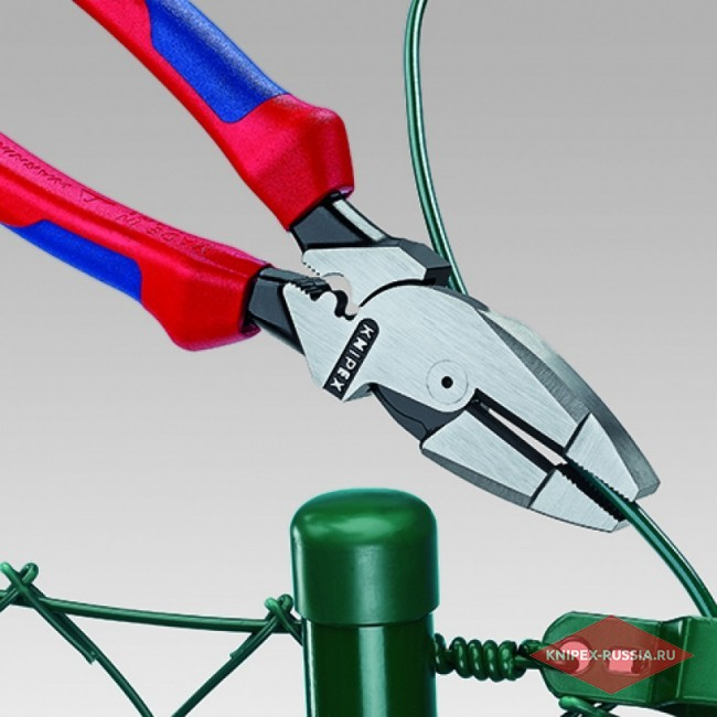 Плоскогубцы электромонтера KNIPEX KN-0902240