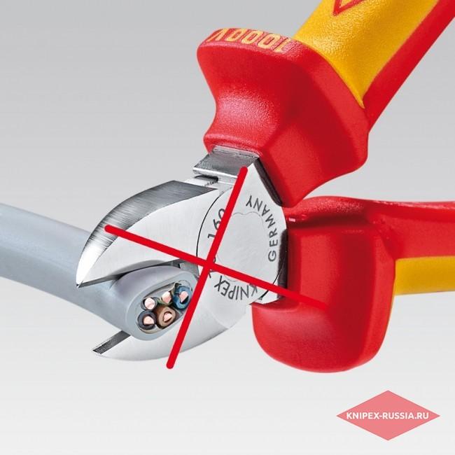 Ножницы для резки кабелей KNIPEX KN-9516165TBK