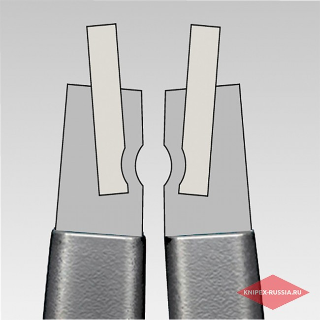 Прецизионные щипцы для стопорных колец KNIPEX KN-4831J3