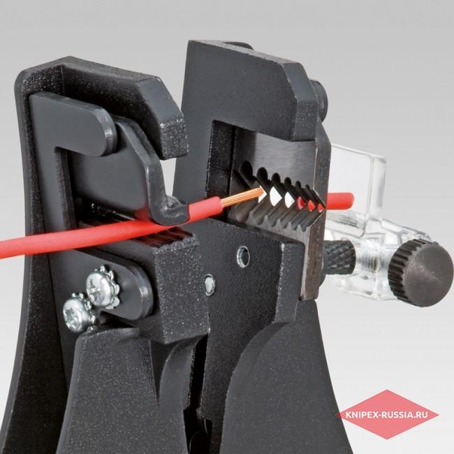 Инструмент для удаления изоляции с фасонными ножами KNIPEX KN-1211180