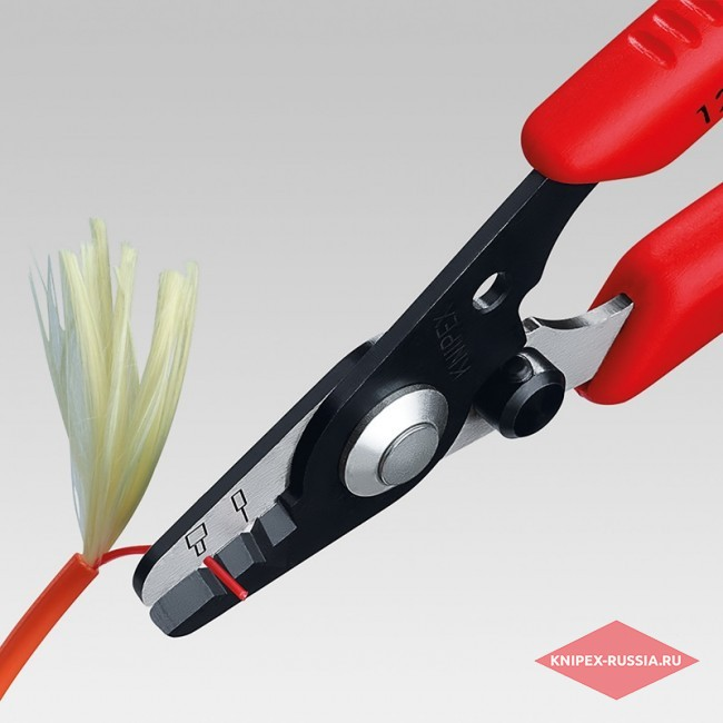 Инструмент для удаления изоляции со световодов KNIPEX KN-1282130SB