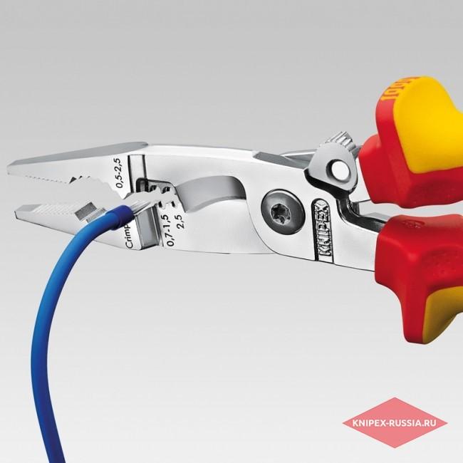 Электромонтажные клещи KNIPEX KN-1392200