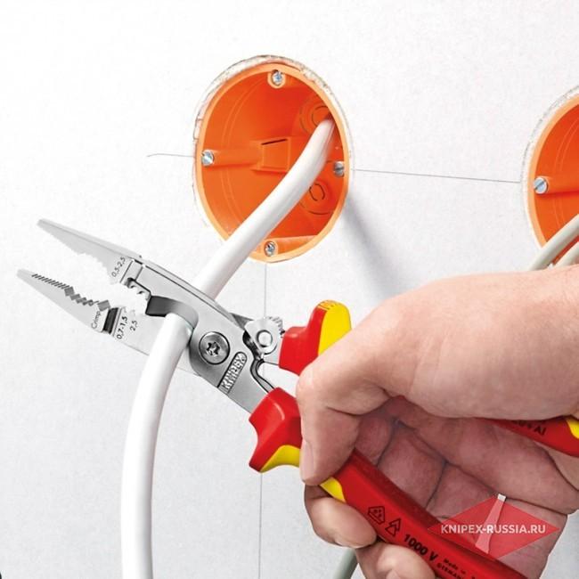 Электромонтажные клещи KNIPEX KN-1396200