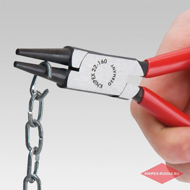 Круглогубцы KNIPEX KN-2205140