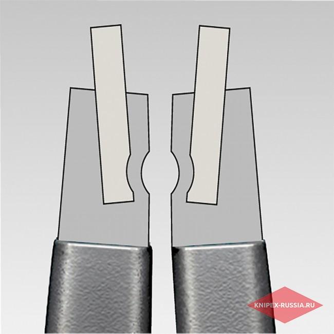 Прецизионные щипцы для внутренних стопорных колец KNIPEX KN-4821J01