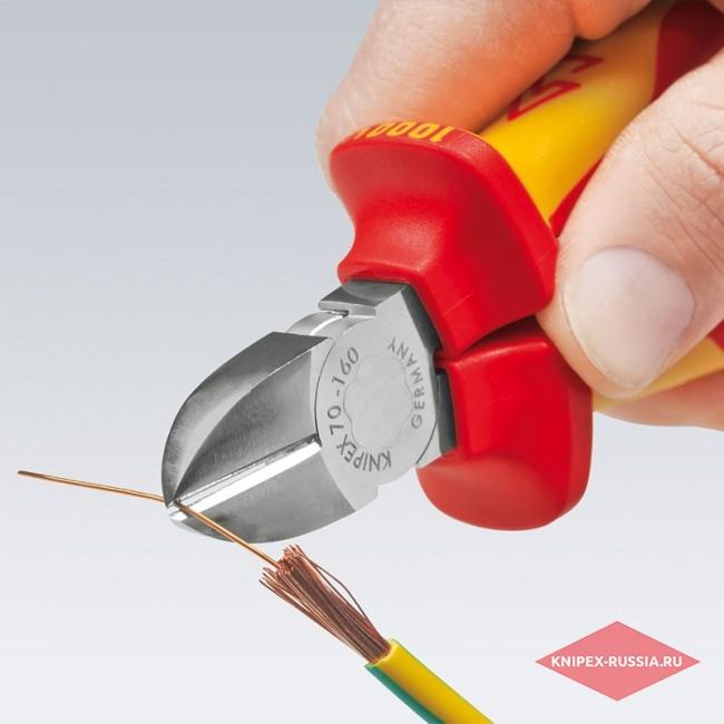 Кусачки боковые KNIPEX KN-7007180