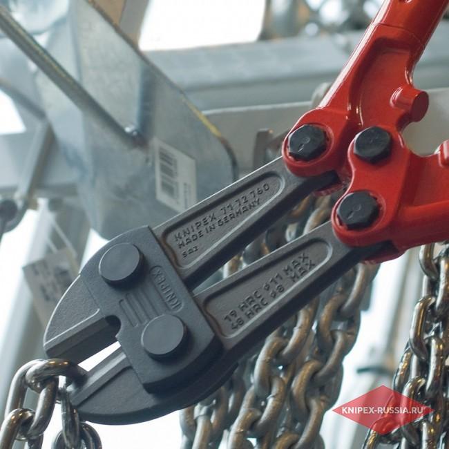 Болторез двуручный усиленный KNIPEX KN-7172910