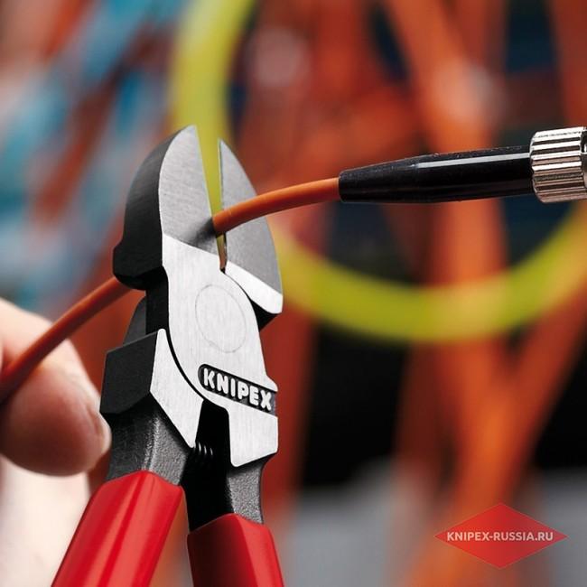 Кусачки боковые для световодов KNIPEX KN-7251160
