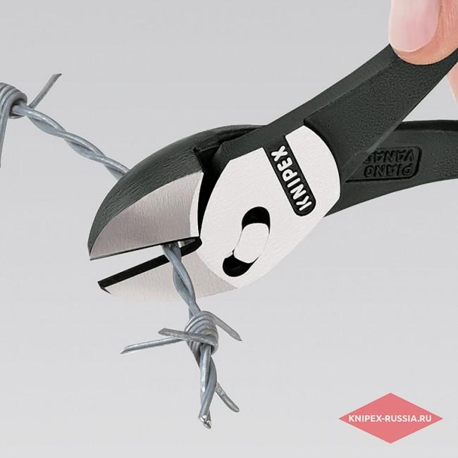 Кусачки боковые повышенной мощности TwinForce® KNIPEX KN-7371180