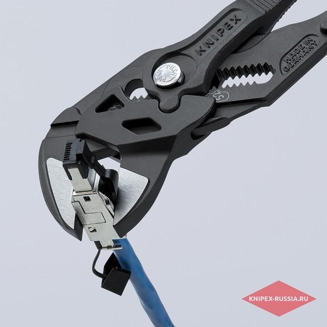 Клещи переставные-гаечный ключ KNIPEX KN-8602250
