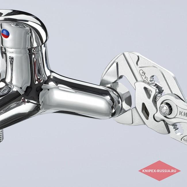 Клещи переставные-гаечный ключ KNIPEX KN-8603250