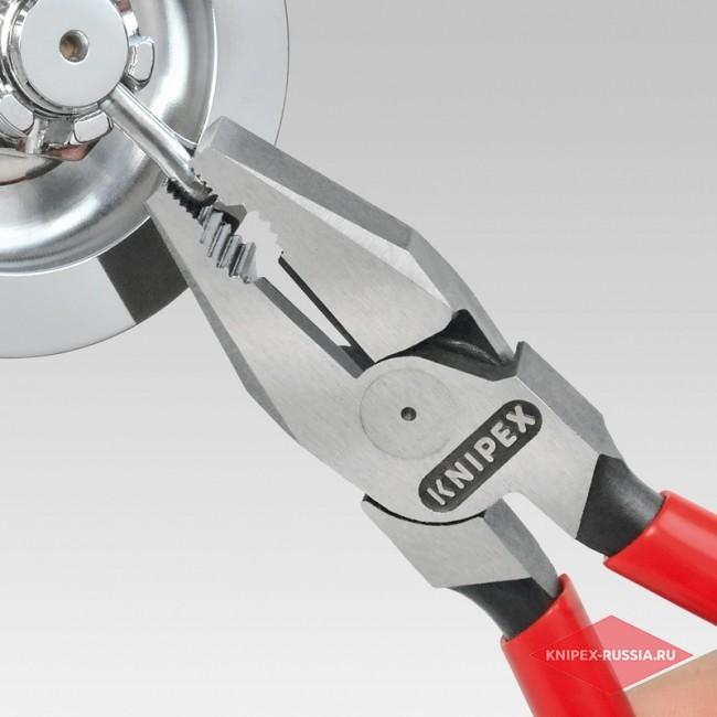 Плоскогубцы комбинированные особой мощности KNIPEX KN-0201225