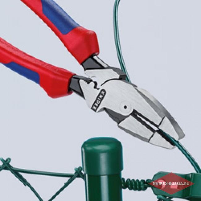 Плоскогубцы электромонтера KNIPEX KN-0901240