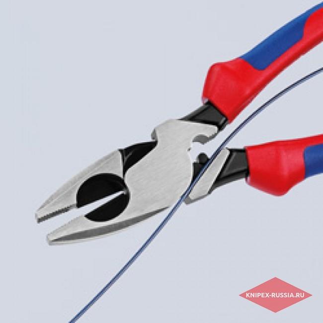 Плоскогубцы электромонтера KNIPEX KN-0912240
