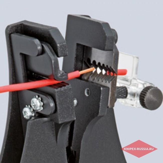 Инструмент для удаления изоляции с фасонными ножами KNIPEX KN-1221180