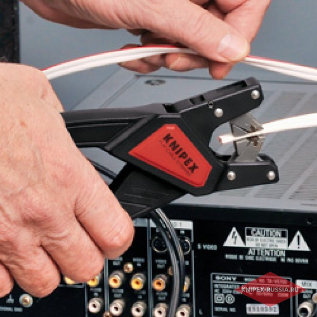 Автоматический инструмент для снятия изоляции с плоских кабелей KNIPEX KN-1264180