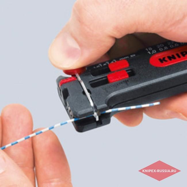 Съемник изоляции модель Mini KNIPEX KN-1280040SB