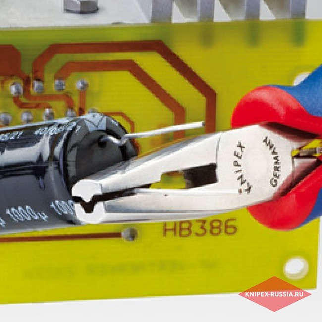 Плоскогубцы захватные, для электроники KNIPEX KN-3622125