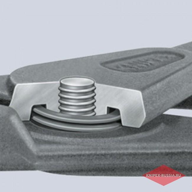 Прецизионные щипцы для стопорных колец с ограничением раскрытия KNIPEX KN-4941A01