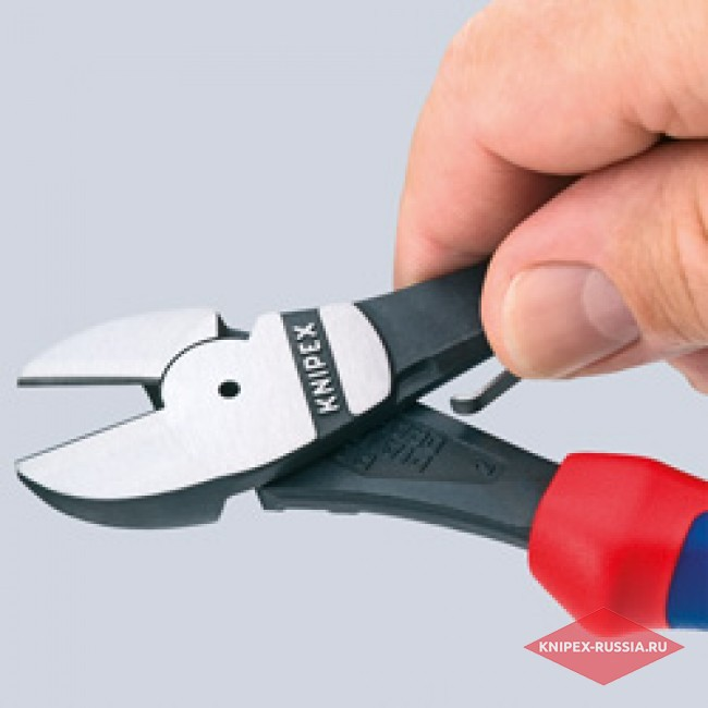 Кусачки боковые особой мощности KNIPEX KN-7412160