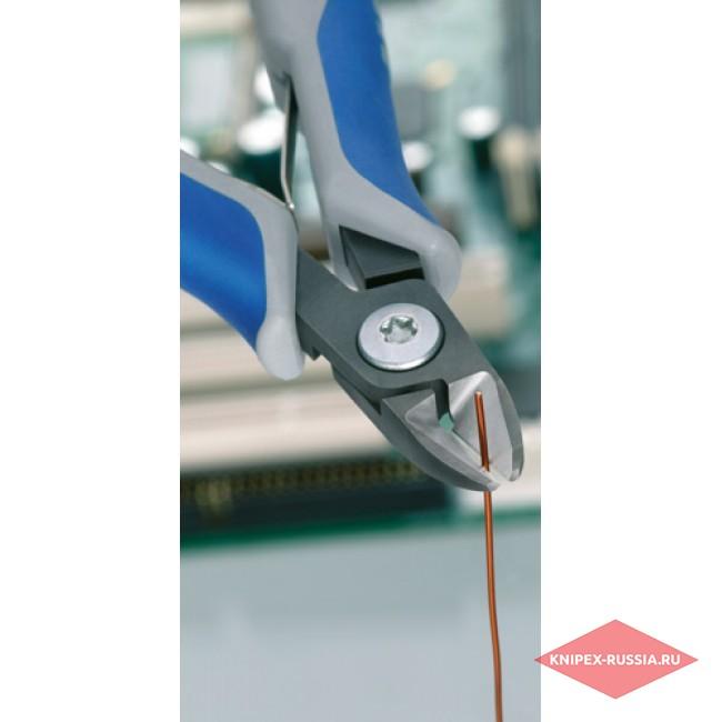 Прецизионные кусачки боковые для электроники KNIPEX KN-7902120