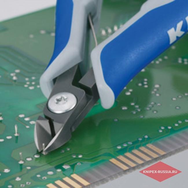 Прецизионные кусачки боковые KNIPEX KN-7902125