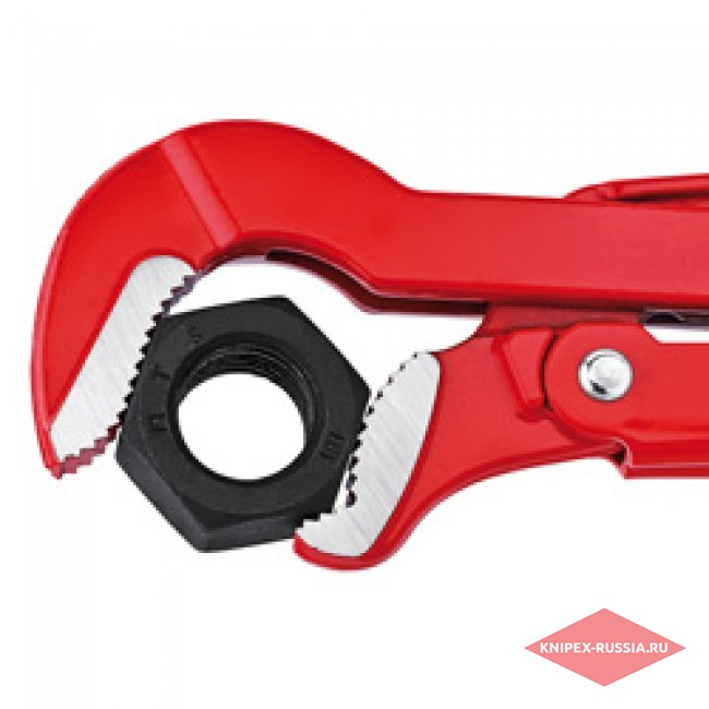Клещи трубные с S-образным смыканием губок KNIPEX KN-8330015