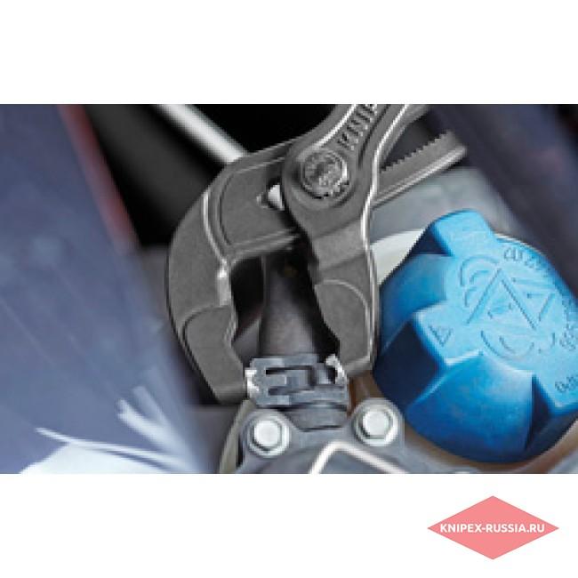 Щипцы для пружинных хомутов с фиксатором KNIPEX KN-8551250AF