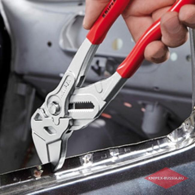 Клещи переставные-гаечный ключ KNIPEX KN-8605180