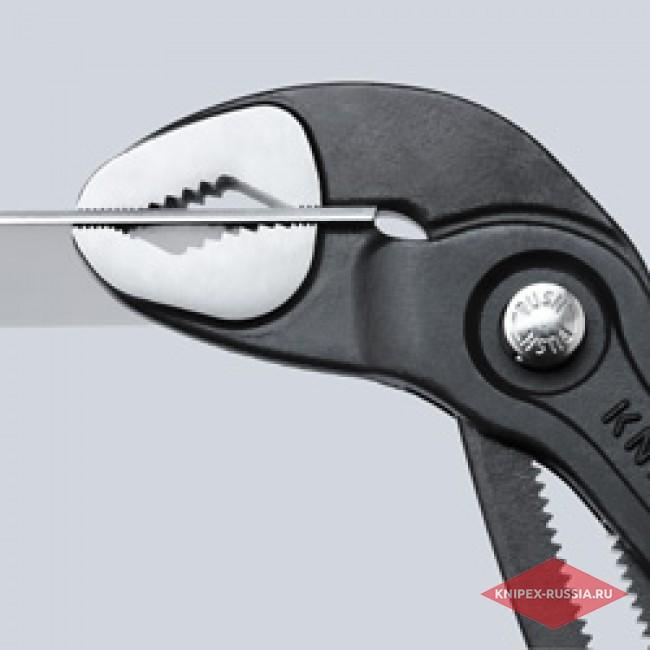 Высокотехнологичные сантехнические клещи Cobra KNIPEX KN-8702250T