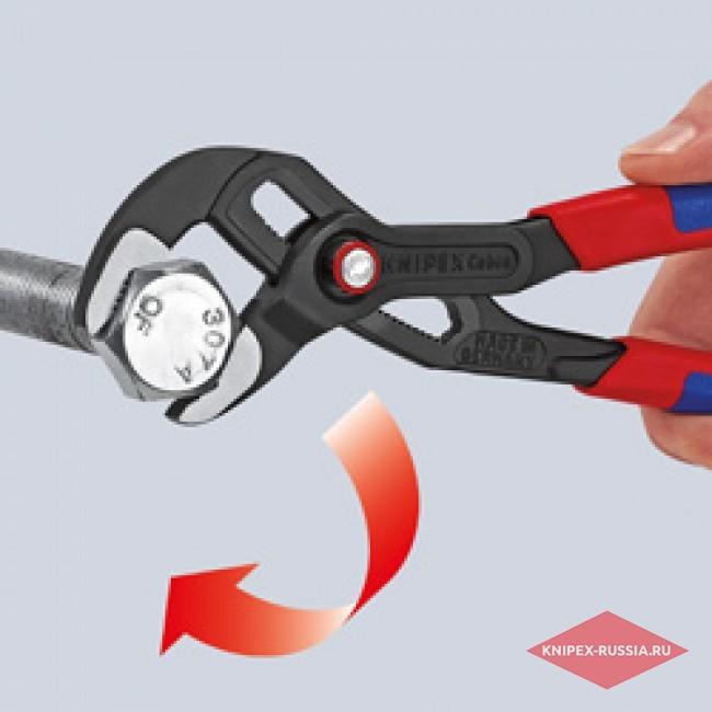Высокотехнологичные сантехнические клещи Cobra QuickSet KNIPEX KN-8721250