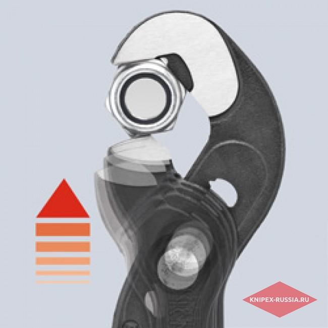 Клещи переставные-гаечный ключ KNIPEX KN-8741250