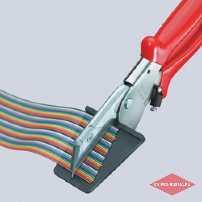 Кусачки для плоского кабеля KNIPEX KN-9415215